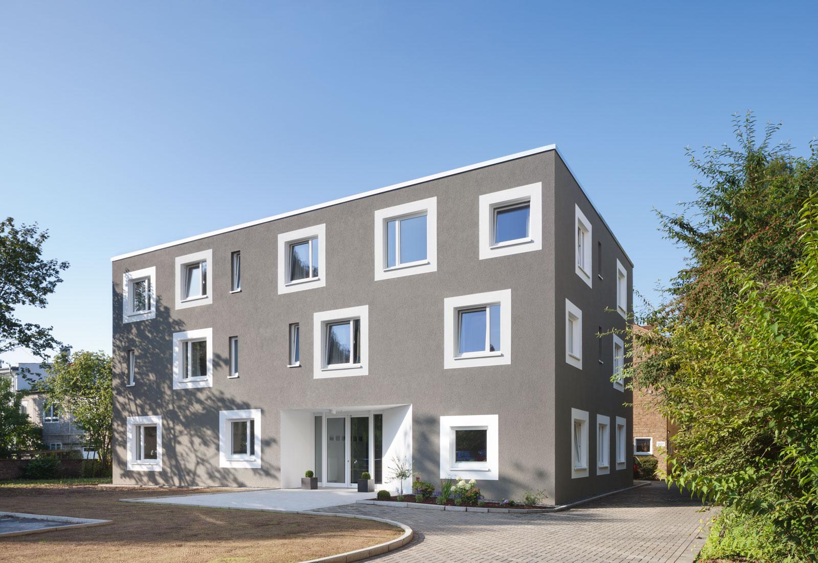 Neubau Jugendwohnheim Abbruch, Jugendwohnheim, Koenigs Rütter Architket