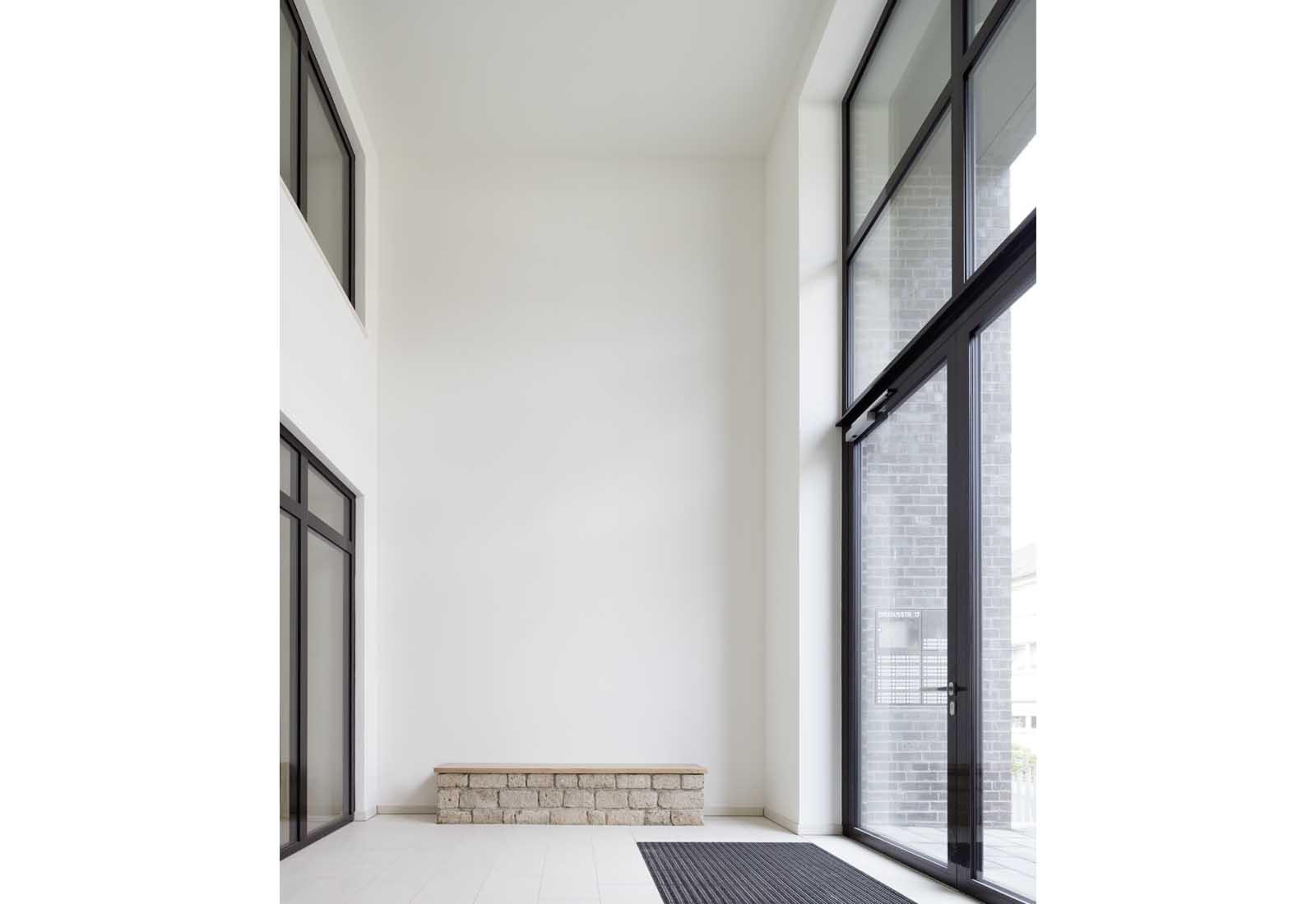 Studierendenwohnheim Drususstraße - Neubau von 73 Studierendenapartments in Bonn-Castell, Bodendenkmal, KfW-55 - Koenigs Rütter Architekten