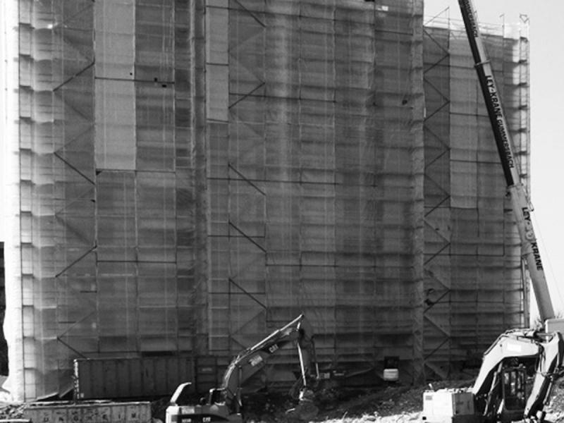Abbruch Studentenwohnheim Hochhaus, Architekt Bonn