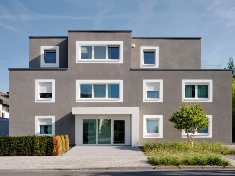 Mehrfamilienhaus Rhenusallee, Koenigs Rütter Architekten, Architekt Bonn