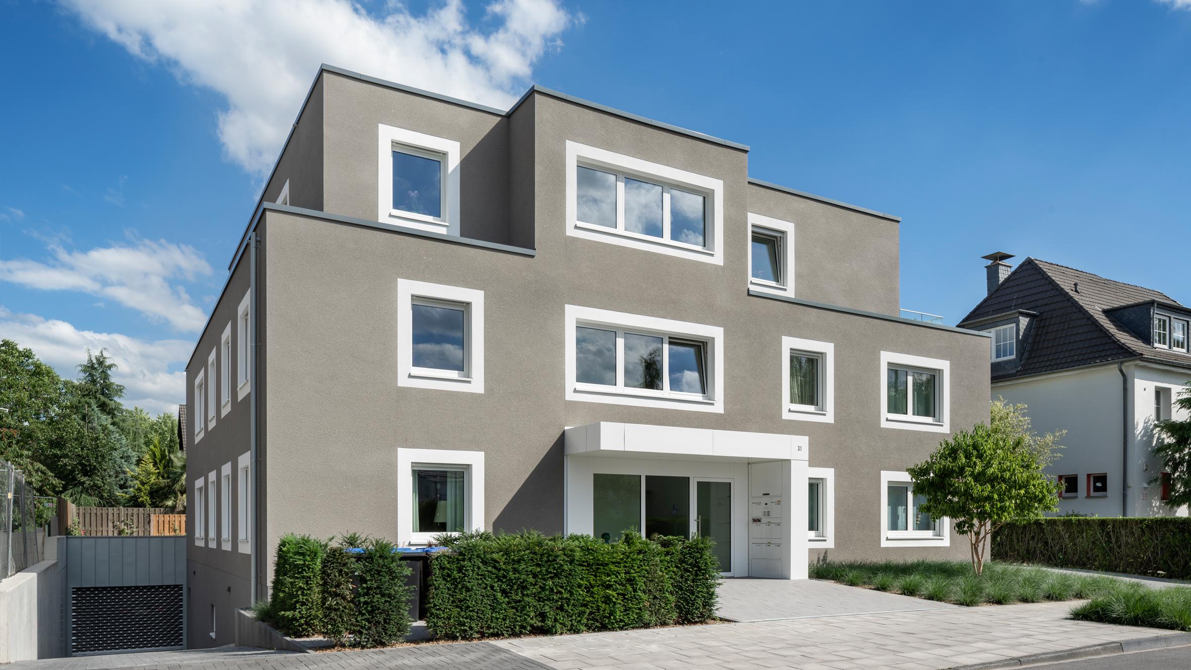 Architekt BonnMehrfamilienhaus Rhenusallee, Koenigs Rütter Architekten, Architekt Bonn
