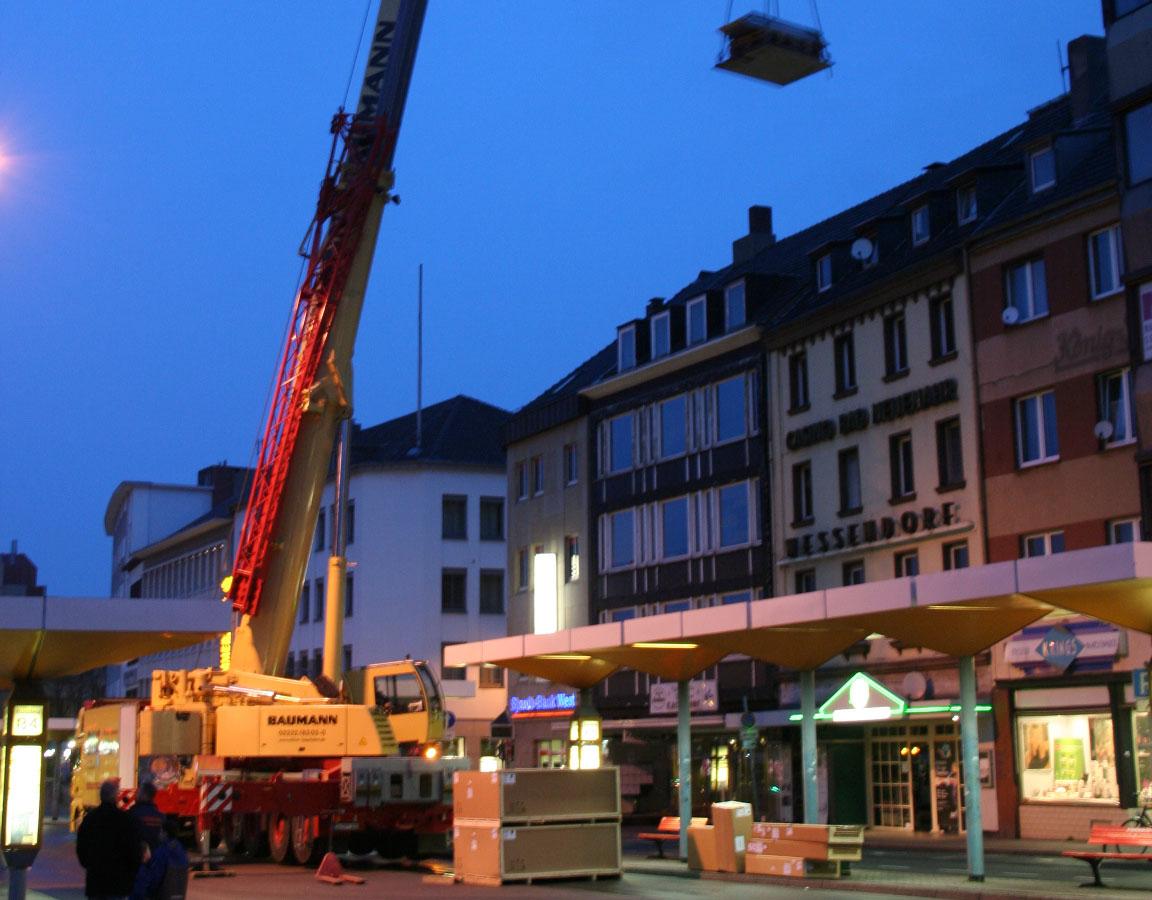 Architekt Bonn Radiologische Praxis Kaiserpassage