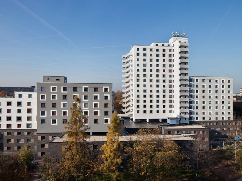 Architekt Bonn Studierendenwohnheim Römerlager - Schadstoffsanierung, energetische Sanierung, WDVS, Klinkerfassade - Koenigs Rütter Architekten Bonn