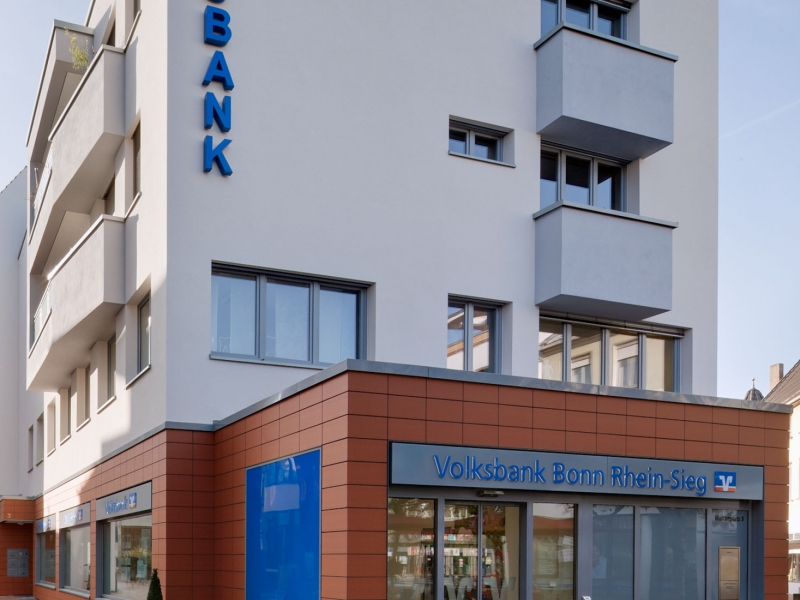 Volksbank am Moltkeplatz, Architekt Bonn