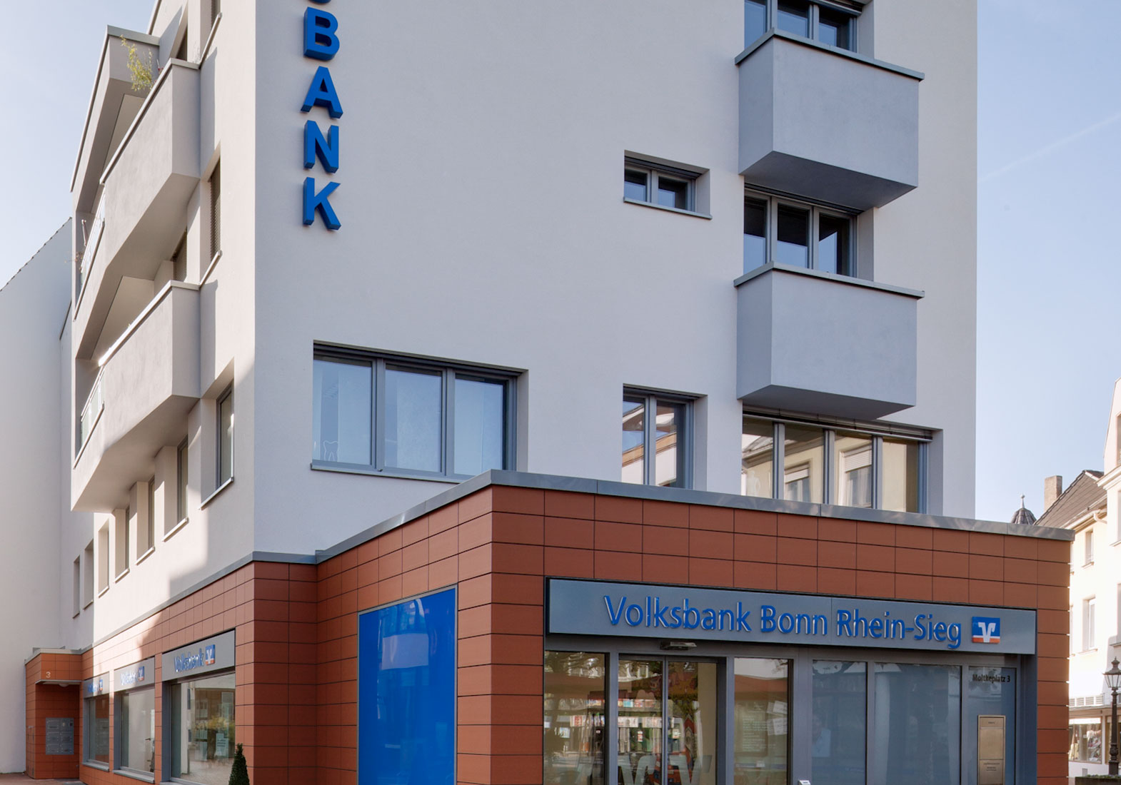 Architekt Bonn Volksbank am Moltkeplatz, Architekt Bonn