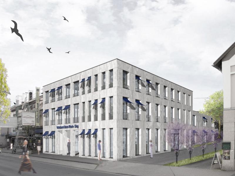 Architekt Bonn Volksbank und Wohnen Bornheim