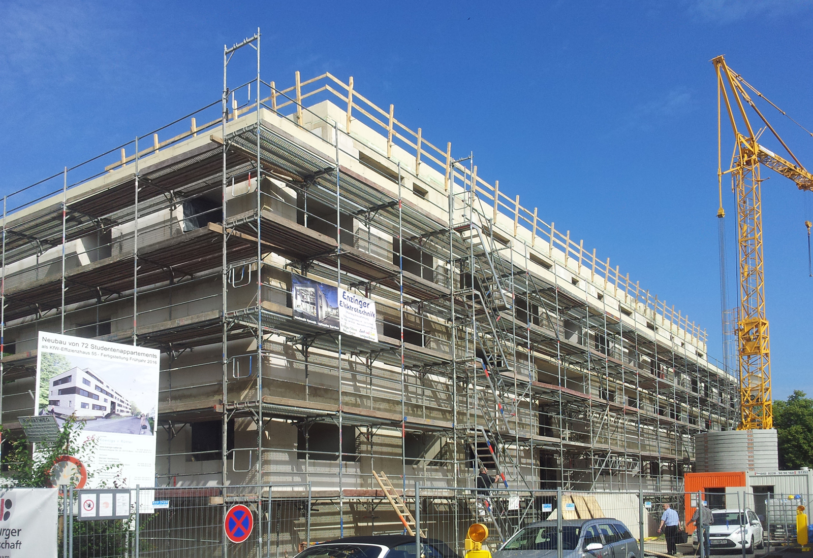 Neubau Studentenwohnheim Drususstraße, Klinker, Studentenwohnheim DrususstraßeKoenigs Rütter Architket