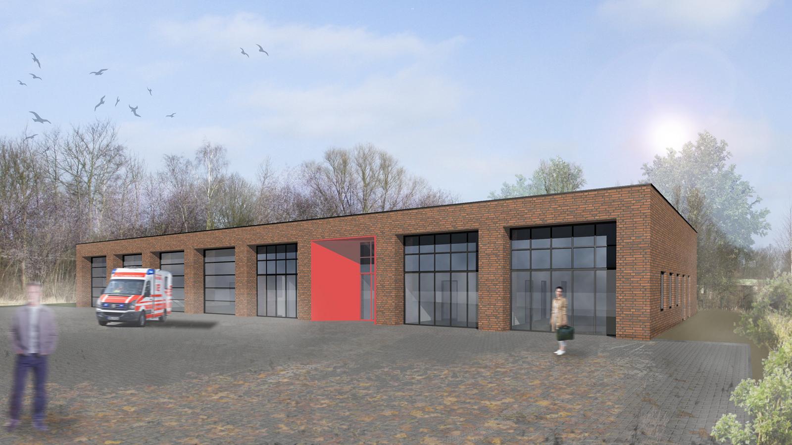 Neubau Rettungswache, Koenigs Rütter Architekten
