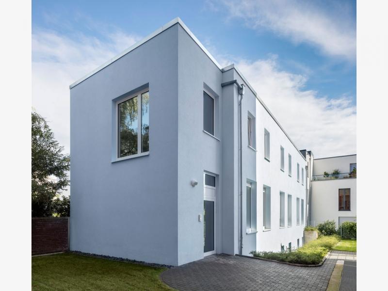 Architekt Bonn Blaues Haus Adenauerallee
