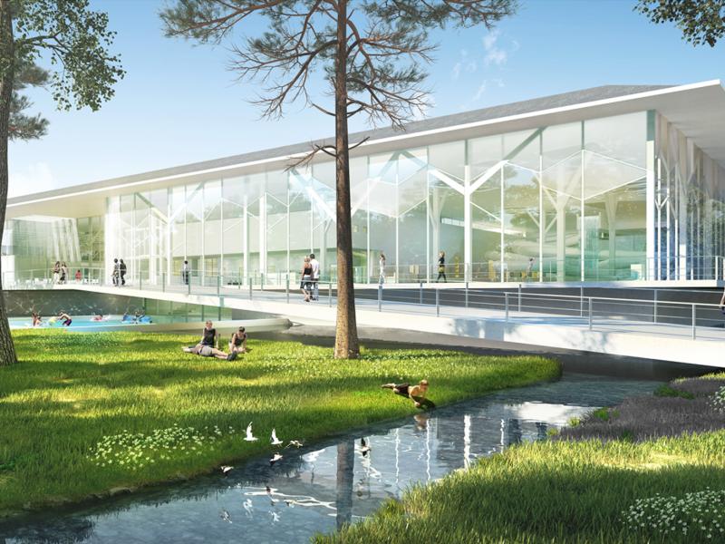 Architekt Bonn Wettbewerb Sportbad Bonn - Koenigs Rütter Architekten