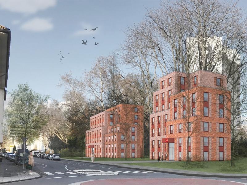 Neubau Studierendenwohnheime Römerstraße