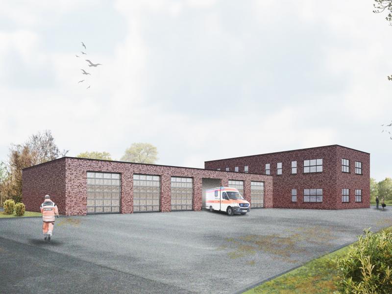 Neubau Rettungswache Oberpleis