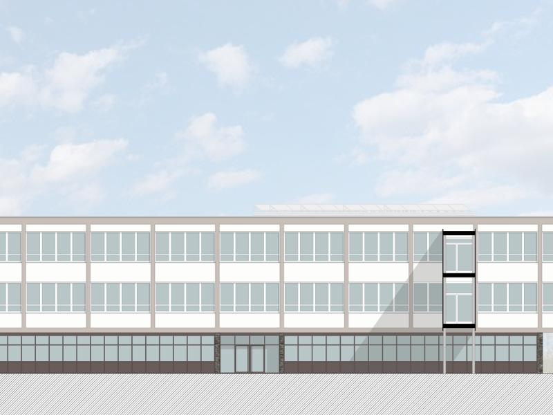 Sanierung des Friedrich-List-Berufskolleg (Gebäude G, H + I) in Bonn-Friesdorf, energetische Sanierung, Koenigs Rütter Architekten Bonn