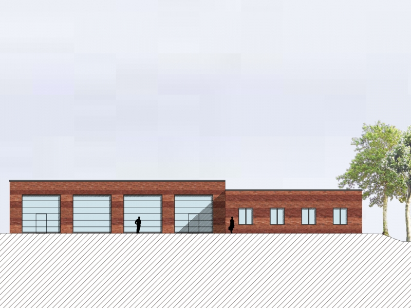 Architekt Bonn Rettungswache Much, Koenigs Rütter Architekten - Architekt Bonn