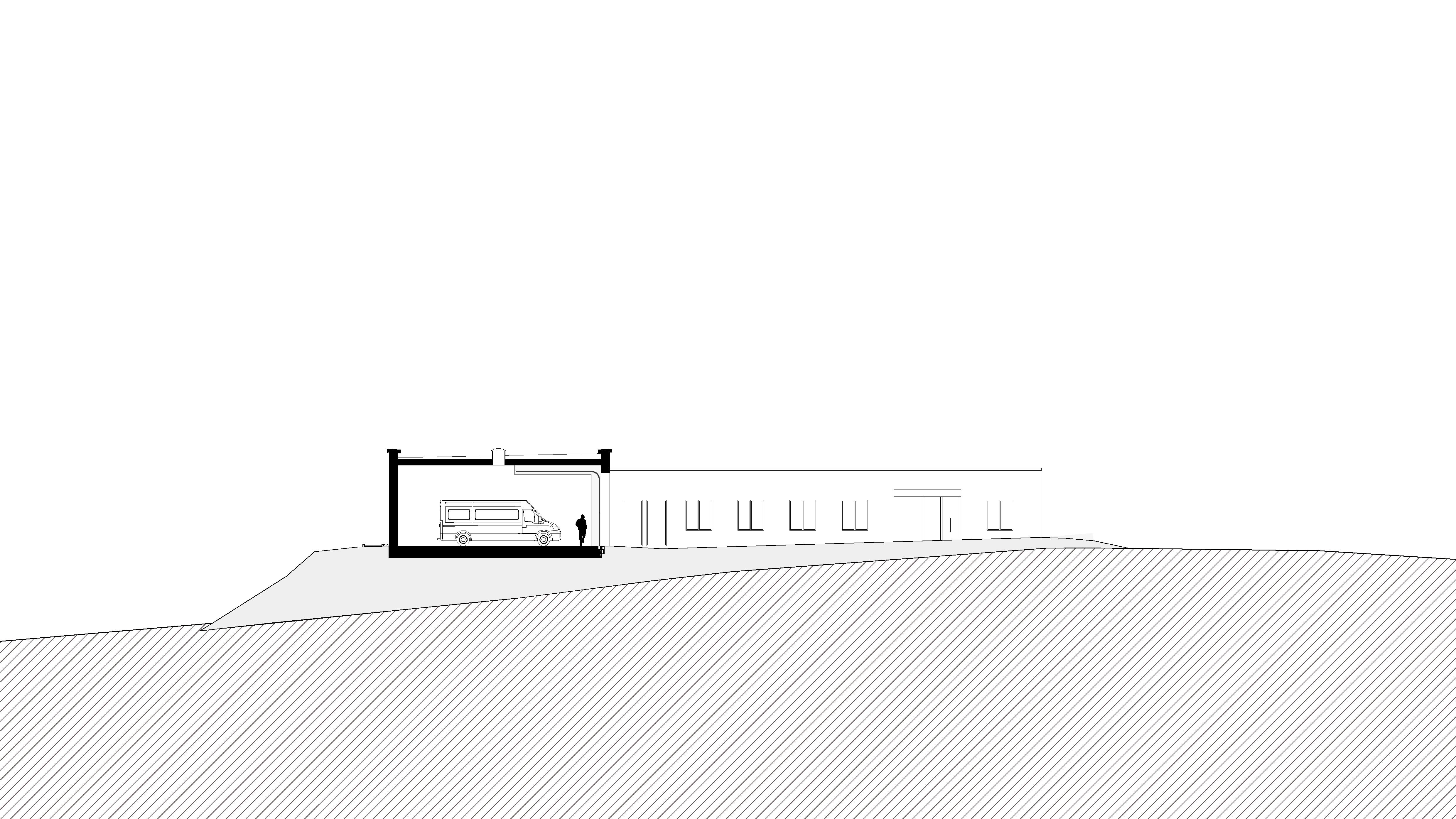 Rettungswache Much, Koenigs Rütter Architekten - Architekt Bonn