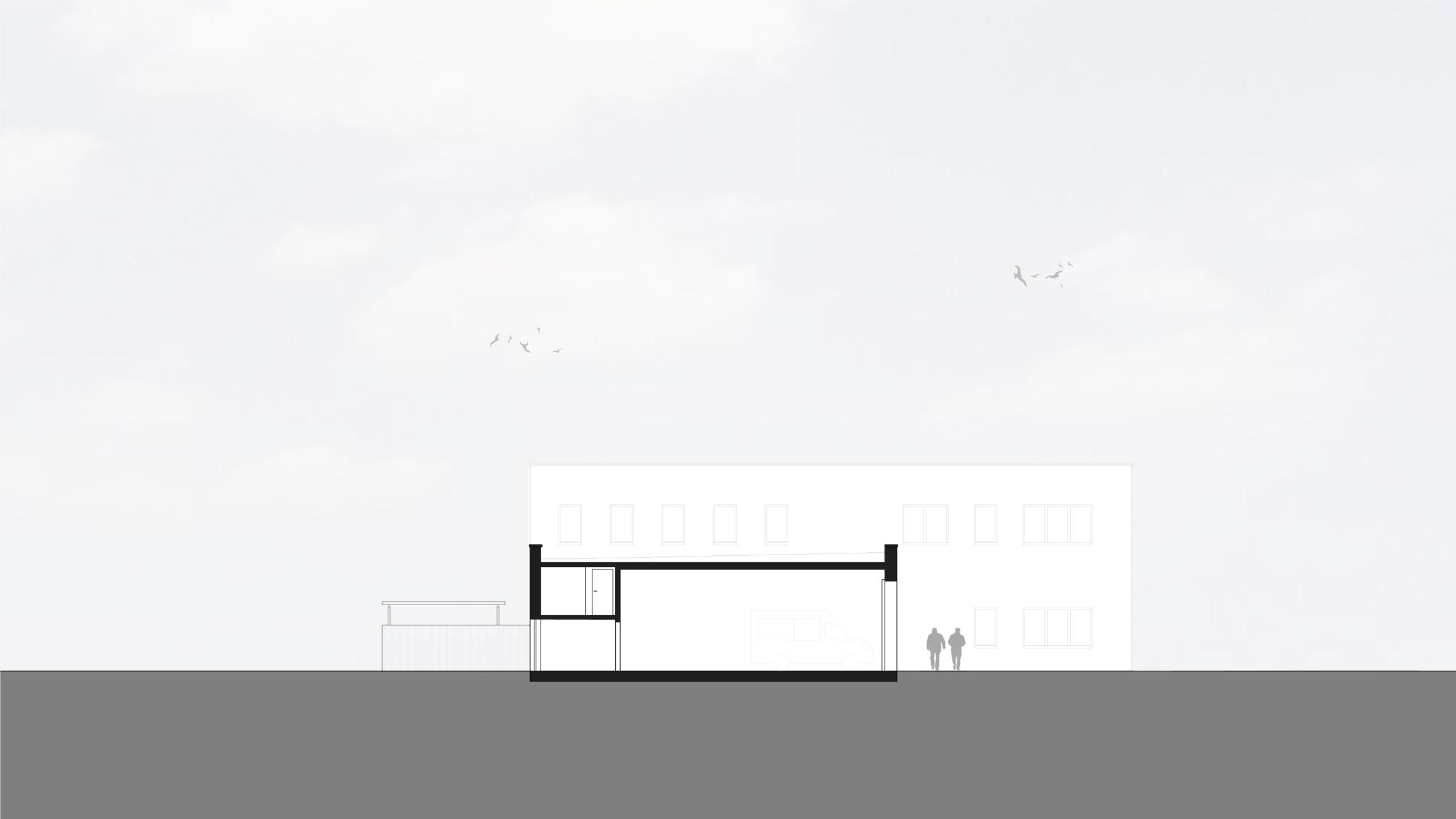Architekt Bonn Neubau Rettungswache Oberpleis - Koenigs Rütter Architekten Bonn
