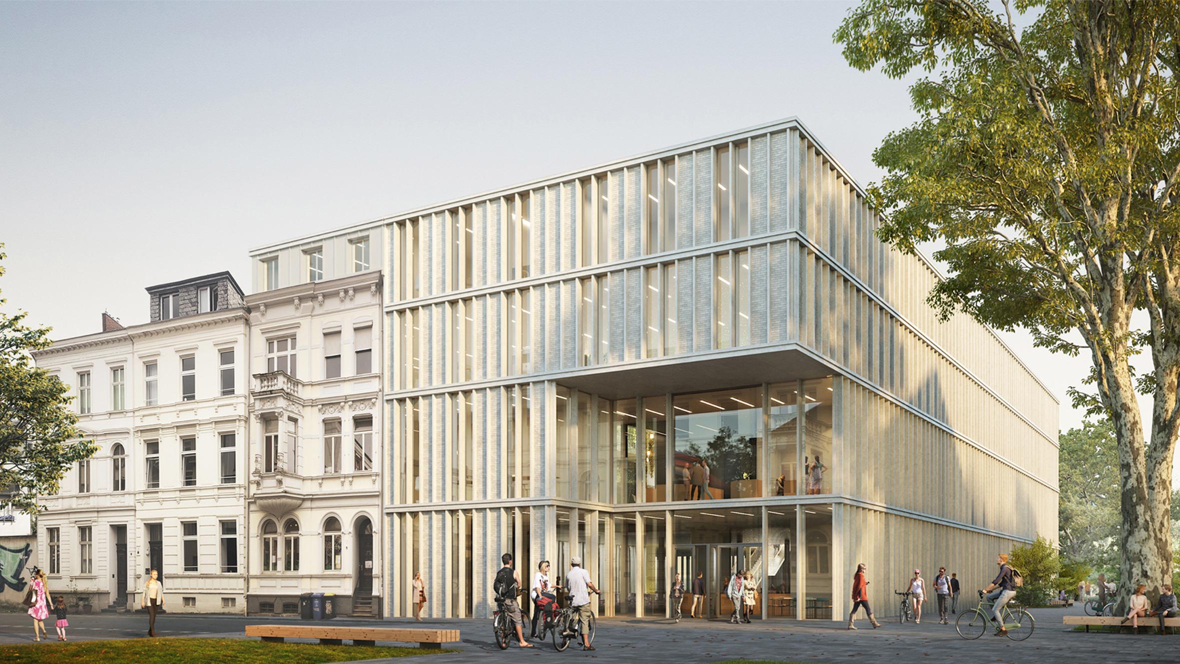 Architekt Bonn Wettbewerb Carré Nassestraße - Koenigs Rütter Architekten Bonn