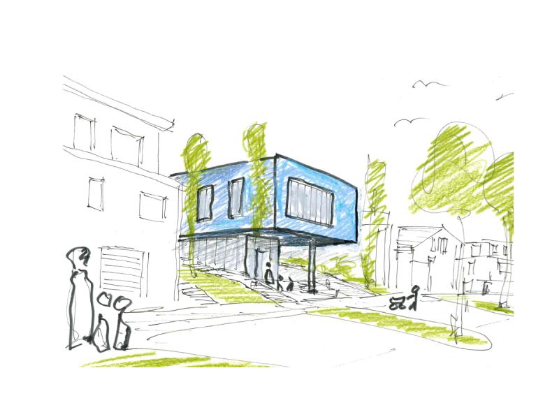 Architekt Bonn Kindertagesstätte Thomasberg, KR Architekt Bonn