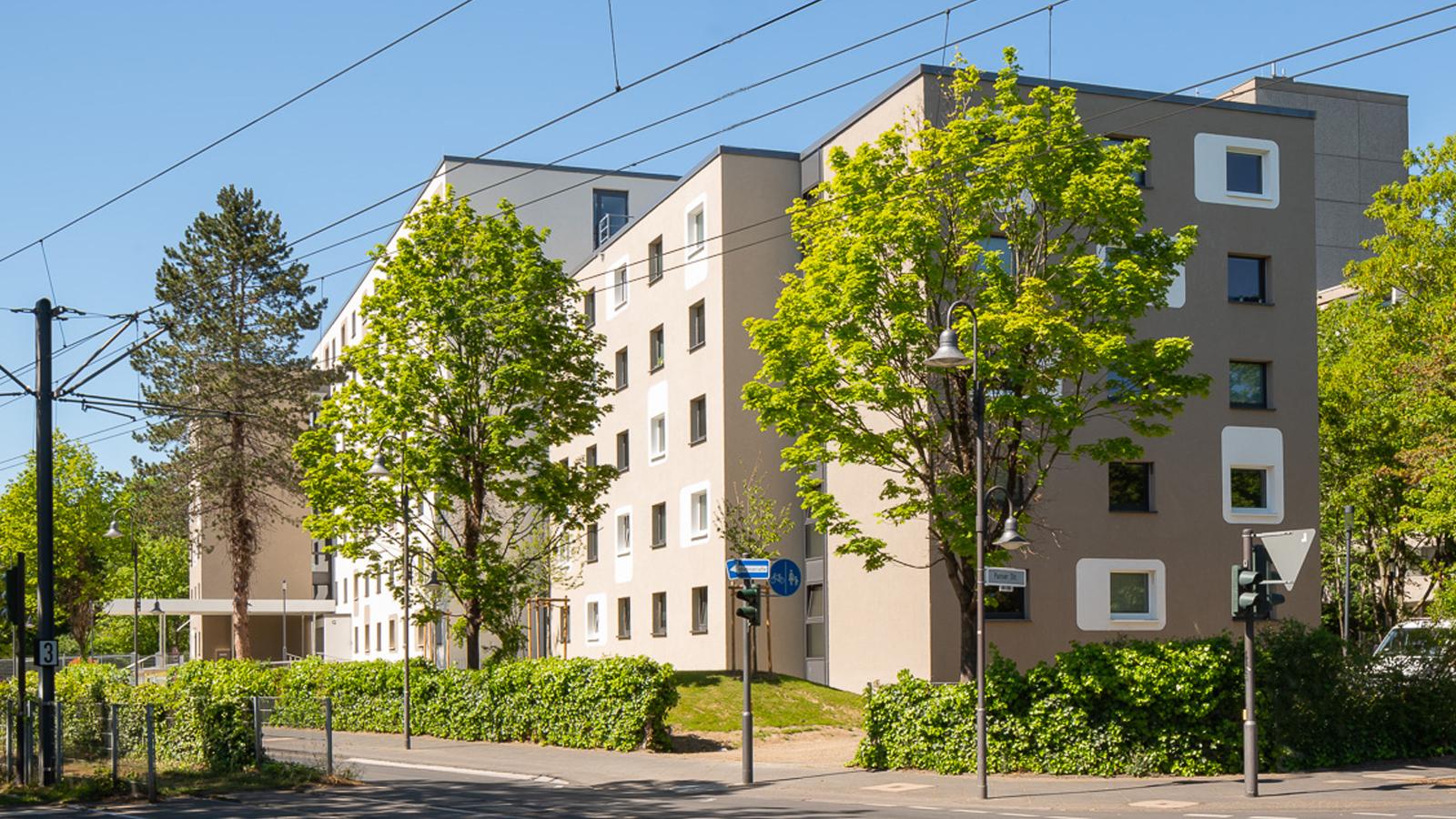 Architekt Bonn Studierendenwohnheim Pariser Straße, Architekt Bonn